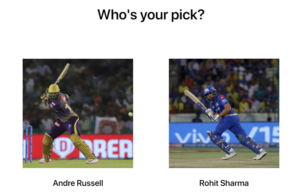 Who is the best T20 player? Rohit Sharma or Andre Russell?