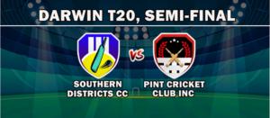 Darwin T20 League 2020, 1st Semi Final tips: Southern Districts Cricket Club vs Pint Cricket Club