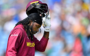 Cricketers who have played under most captains – Chris Gayle