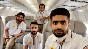 Pakistan's cricketers arrive in England for series amid COVID-19 pandemic