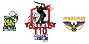FREE Tips! Punjab T10 Cricket League 2020, Match 3 – Amritsar Alligators vs Firozepur Falcons
