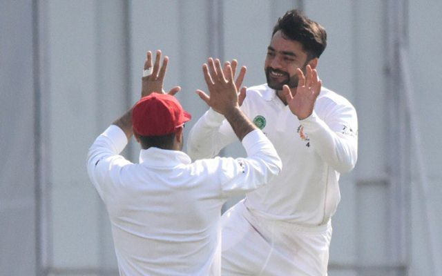 Our pick for the best All-time Test XI cricketer in Afghanistan -Rashid Khan