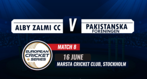 Alby Zalmi CC is expected to cruise to yet another comfortable victory over Pakistanska Foreningen