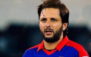 Cricketers who have played under most captains – Shahid Afridi