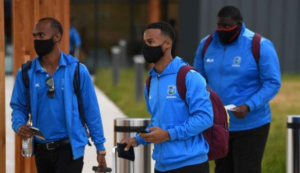 West Indies arrived in England to prepare for 3 Test series