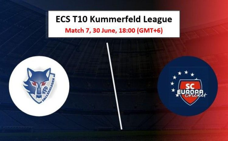 Cricket Free Tips| ECS T10 Kummerfeld 2020 – Match 7, VFB vs SCE