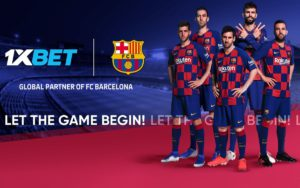 1xBet Partnering with FC Barcelona