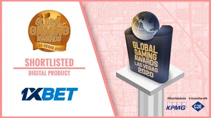 1xBet nominated for the Global Gaming Awards Las Vegas 2020