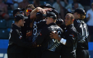 The occasions where a team conceded a match in the International Cricket – New Zealand and England