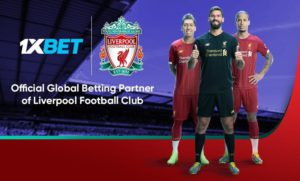 Liverpool Pen Multi-Year Partnership 1xBet