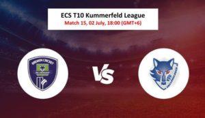Cricket Free Tips| ECS T10 Kummerfeld 2020 – Match 15, FDF vs VFB