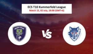Cricket Free Tips| ECS T10 Kummerfeld 2020 – Match 15, FDF vs VFB