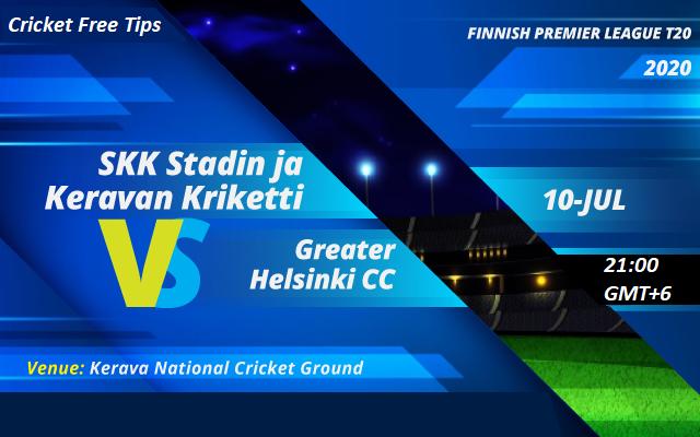Online Cricket Betting – Free Tips | Finnish Premier League 2020 – Match 31, SKK Stadin Ja Keravan Kriketti vs Greater Helsinki CC