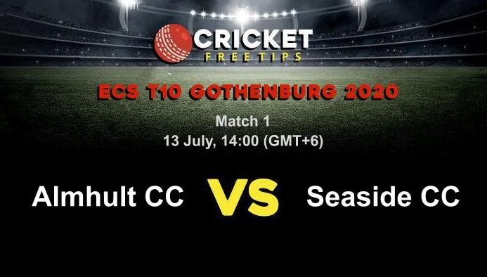 Online Cricket Betting – Free Tips | ECS T10 Gothenburg 2020 – Match 1, Almhult CC vs Seaside CC