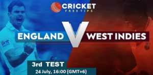 Online Cricket Betting – Free Tips | England vs West Indies, 2020: 3rd Test