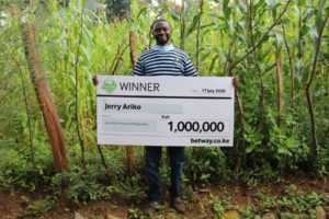 The 4 To Score promotion from Betway has seen Accountant Scoop Sh1,000,000