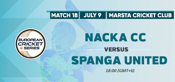 Online Cricket Betting – Free Tips | ECS T10 Stockholm, Botkyrka 2020 – Match 18, Nacka CC vs Spanga United CC