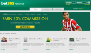 Know more about Bet365 Affiliate Program