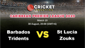 Online Cricket Betting – Free Tips   CPL 2020: Match 19, Barbados Tridents vs St Lucia Zouks
