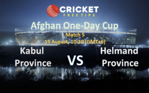 Online Cricket Betting – Free Tips | Afghan One-Day Cup, 2020: Match 5, Kabul Province vs Helmand Province