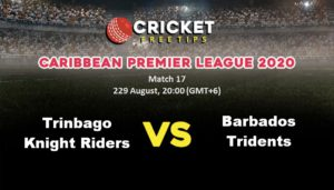 Online Cricket Betting – Free Tips | Caribbean Premier League 2020: Match 17, Trinbago Knight Riders vs Barbados Tridents
