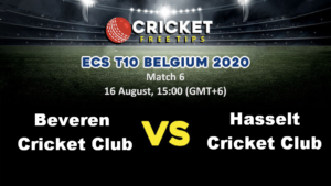 Online Cricket Betting – Free Tips | ECS T10 Belgium, 2020: Match 6, Beveren CC vs Hasselt CC