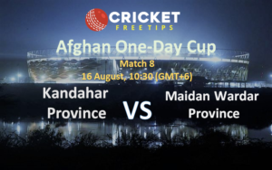 Online Cricket Betting – Free Tips | Afghan One-Day Cup, 2020: Match 8, Kandahar Province v Maidan Wardak Province