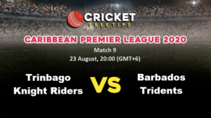 Online Cricket Betting – Free Tips | CPL 2020: Match 9, Trinbago Knight Riders vs Barbados Tridents