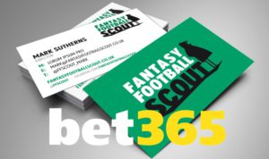 Bet365 to be official sportsbook partner of Fantasy Football Scout