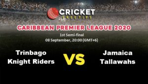 Cricket Free Tips | Caribbean Premier League 2020: 1st Semi-final, Trinbago Knight Riders vs Jamaica Tallawahs