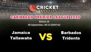 Cricket Free Tips | Caribbean Premier League 2020: Match 28, Jamaica Tallawahs vs Barbados Tridents