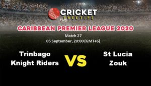 Cricket Free Tips | Caribbean Premier League 2020: Match 27, Trinbago Knight Riders vs St Lucia Zouks