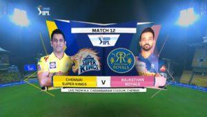 IPL 2020 Live Cricket :RR vs CSK  स्टीव्ह स्मिथच्या वापसीमुळे राजस्थान रॉयल्सला दिलासा
