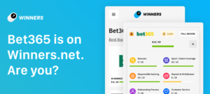 Winners.net partnership with bet3655