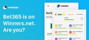 Winners.net partnership with bet3655