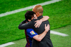 "Lionel Messi:""lucky"" to have worked under Pep Guardiola"