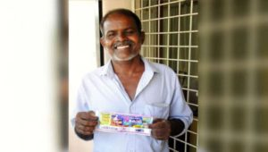 Kerala Man win 12 Crore lottery prize