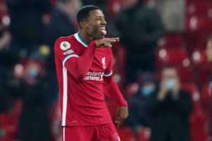 Georginio Wijnaldum explained celebration after scoring Liverpool vs Wolves stunner
