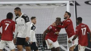 Paul Pogba stunning goal against Fulham bring Man United back to Premier League top
