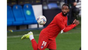 Atletico Madrid's forward Moussa Dembele tests positive for Coronavirus