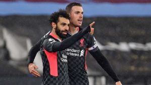 Mohamed Salah urges Liverpool to secure an impressive 3-1 victory over West Ham