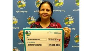 Indian retiree wins $1 000 000 Powerball Prize