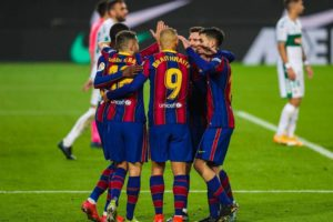 Barcelona returned to winning ways with a 3-0 win over Elche in the 2020-21 La Liga