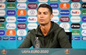 Coca-Cola responded to Cristiano Ronaldo's snub at Euro 2020 press conference