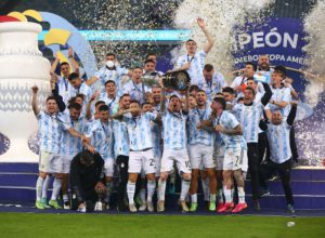 Lionel Messi and Argentina finally wins Copa America 2021 final against Brazil