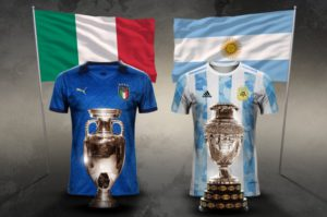 Lionel Messi could lead Argentina against Euro 2020 winner Italy in a 'Super Cup'