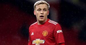 Manchester United star Donny van de Beek rejects move to Barcelona